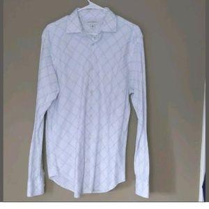 Banana Republic Factory Fact Mens Dress Shirt